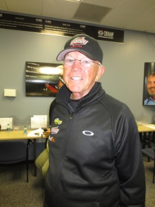 NASCAR Owner Coach Joe Gibbs