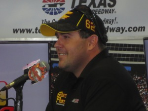 Brendan Gaughan -- my favorite truck driver... Reminds me of a Teddy Bear ;)