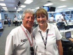 Mario Andretti & I talked the good ole' days of real racing!