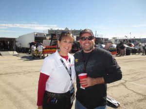 My favorite truck driver, Brendan Gaughan