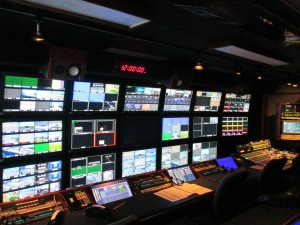 ESPN Production Booth