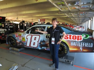 With Matt's Nationwide car