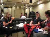 The interview was in the hauler
