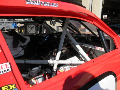 Ever looked in a race car?