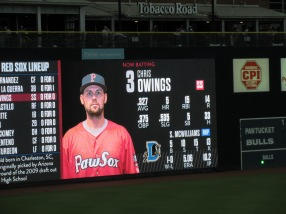 Chris Owings -- I had him in Fantasy Baseball when he was D'Back