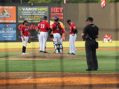 CarolinaMudCats and SalemRedSox 8_10_19 014
