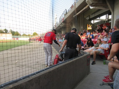 CarolinaMudCats and SalemRedSox 8_10_19 019