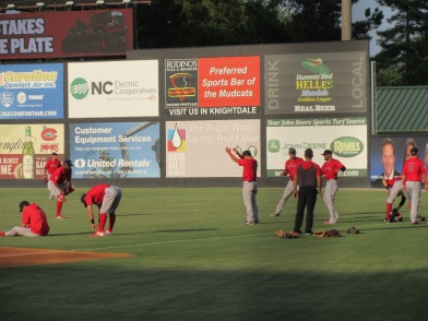 CarolinaMudCats and SalemRedSox 8_9_19 004