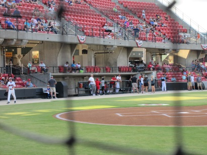 CarolinaMudCats and SalemRedSox 8_9_19 006