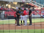 CarolinaMudCats and SalemRedSox 8_9_19 012